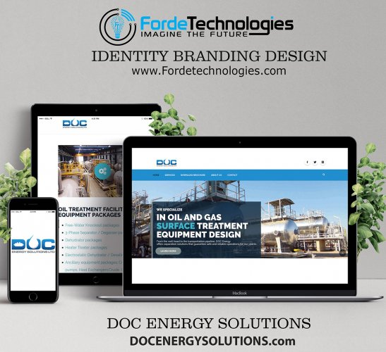 DOC Energy Solutions Website