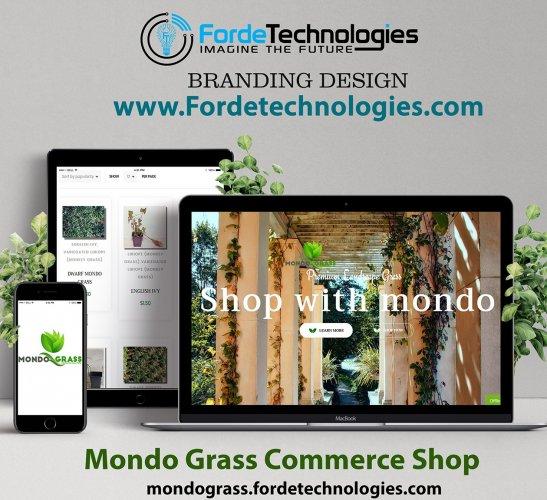 Mondo Grass E-commerce Shop