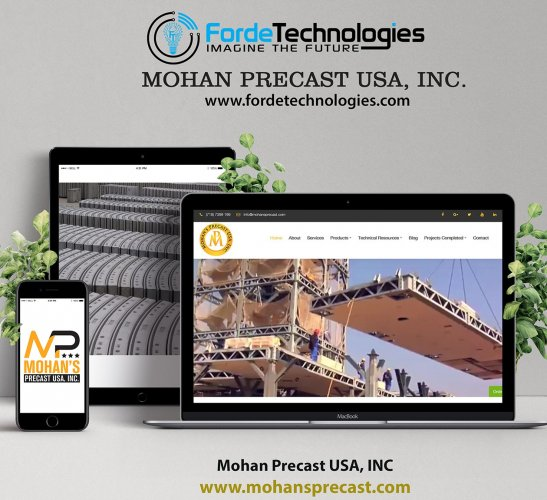 MOHAN PRECAST USA, INC